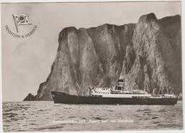 Norvège :  Nordenfjeldskes D/S Sigurd Jarl Ved Nordkapp , Bateau  , 1952 , Timbre - Norwegen