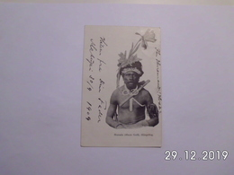 Namala  ( Huon Gulf ) Häuptling. (1 - 10 - 1909) - Papouasie-Nouvelle-Guinée