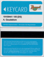 Roompot Vakanties-503----key Card, Room Key, Schlusselkarte, Hotelkarte - Cartas De Hotels