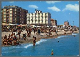 °°° Cartolina - Fano Spiaggia Di Levante Viaggiata °°° - Fano