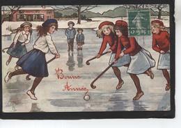 Hockey Sur Glace - Bonne Année - Illustratoren & Fotografen