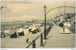 85.  LES SABLES D'OLONNE . La Plage Et Le Remblai . - Sables D'Olonne