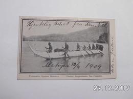 Simpsonhafen. - Fischer. - Neu Pommern. (1 - 10 - 1909) - Papouasie-Nouvelle-Guinée