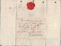 1794 De Hausach Hds.Aufgabe Bf M. Inhalt N. Binzelsau - [1] ...-1849 Préphilatélie