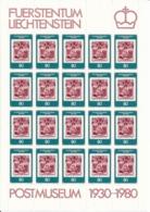 Zumstein 688 / Michel 750 Bogen-Serie Einwandfrei Postfrisch/** - Blocks & Sheetlets & Panes