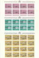 Zumstein 689-691 / Michel 751-753 Bogen-Serie Einwandfrei Postfrisch/** - Blocks & Kleinbögen