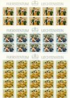 Zumstein 692-694 / Michel 754-756 Bogen-Serie Einwandfrei Postfrisch/** - Blocks & Kleinbögen