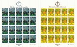 Zumstein 702-703 / Michel 764-765 Bogen-Serie Einwandfrei Postfrisch/** - Blocks & Kleinbögen