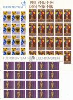 Zumstein 712-714 / Michel 773-775 Bogen-Serie Einwandfrei Postfrisch/** - Blocks & Kleinbögen