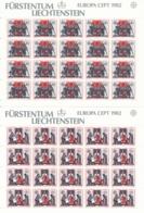 Zumstein 730-731 / Michel 791-792 Bogen-Serie Einwandfrei Postfrisch/** - Blocks & Kleinbögen