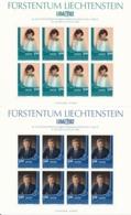 Zumstein 736-737 / Michel 797-798 Bogen-Serie Einwandfrei Postfrisch/** - Blocks & Kleinbögen