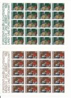 Zumstein 741-744 / Michel 802-805 Bogen-Serie Einwandfrei Postfrisch/** - Blocks & Kleinbögen