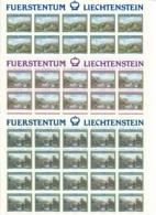 Zumstein 745-747 / Michel 806-808 Bogen-Serie Einwandfrei Postfrisch/** - Blocks & Kleinbögen