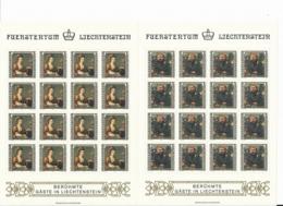 Zumstein 748-751 / Michel 809-812 Bogen-Serie Einwandfrei Postfrisch/** - Blocks & Kleinbögen