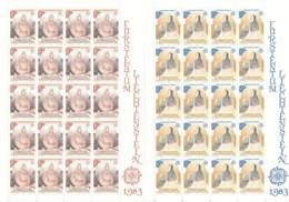 Zumstein 755-756 / Michel 816-817 Bogen-Serie Einwandfrei Postfrisch/** - Blocks & Kleinbögen