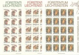 Zumstein 757-759 / Michel 818-820 Bogen-Serie Einwandfrei Postfrisch/** - Blocks & Kleinbögen