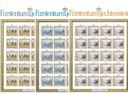 Zumstein 760-762 / Michel 821-823 Bogen-Serie Einwandfrei Postfrisch/** - Blocks & Kleinbögen