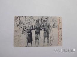 Zum Tanz Geschmückte Eingeborene Von Matupi. (6 - 11 - 1909) - Papouasie-Nouvelle-Guinée
