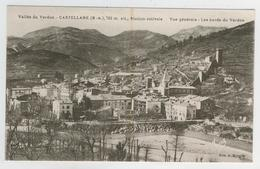 04 - Castellane -   Vue Générale  -  Les Bords Du Verdon - Castellane
