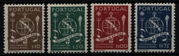 Portugal 1945 - Mi-Nr. 689-692 ** - MNH - Marineschule - Ungebraucht