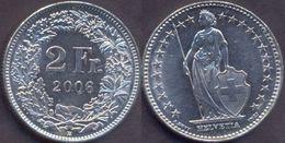Switzerland Swiss 2 Franc 2006 VF - Suisse
