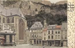 Dinant - La Grand Place (colorisée, Kiosque 1902) - Dinant