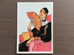 Cartolina Acquarello Di Hugo Pratt - Fumetti
