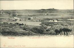 A18 TUNISIE CPA  CARTHAGE - VUE GENERALE PRISE DE GAMART - Tunisia