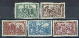 Sarre - 1950 - Série N° 278/282 - Neufs X - Traces Très Discrètes - TB - - Ongebruikt