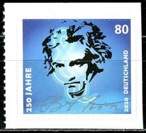 BRD - Mi 3519 Gestanzt Aus MH 116 - ** Postfrisch (K) - 80C          Ludwig Van Beethoven - Ausgabe 02.01.2020 - [7] Federal Republic