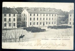Cpa Du 06  Antibes Caserne Des Chasseurs    DEC19-23 - Antibes