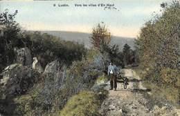 Lustin - Vers Les Villas D'En Haut (animée Colorisée SBP N° 8, 1912) - Profondeville