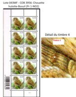 AB0062 - COB 3956:  Chouette Hulotte / Bosuil - 1985-.. Birds (Buzin)