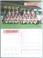 Carte Postale Géante Sporting Anderlecht  1975 - Calcio