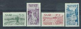 Sarre - 1948 - N° 244/247 - Neufs X, Traces Infimes De Charnières - TB - - 1947-56 Ocupación Aliada