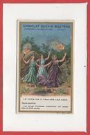 CHROMOS - Chocolat GuérIn Boutron - Le Théhâtre A Travers Les Ages - Danse Goulois - Guérin-Boutron