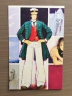 Cartolina Corto Maltese Di Hugo Pratt - Fumetti