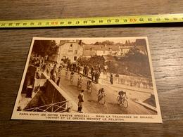 1934 M COURSE CYCLISTE PARIS VICHY TRAVERSEE DE BRIARE - Collections