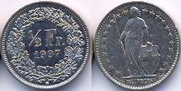 Switzerland Swiss 1/2 Franc (50 Rappen) 1997 AVF - Suisse