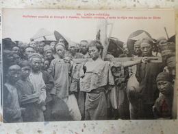 VIETNAM INDOCHINE LAOKAI HOKEOU MALFAITEUR CRUCIFIE ET ETRANGLE  REGLE DES SUPPLICIES EN CHINE - Viêt-Nam