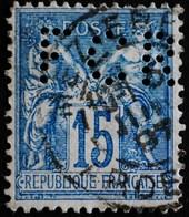 -Sage N°90 Type Ll.( CAD )   O MEZIERES JUIN 1897.( Perforé F C R ) - 1876-1898 Sage (Tipo II)