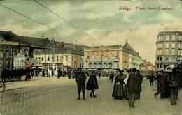 CPA - Belgique - Liège - Place Saint-Lambert - Liege