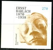 BRD - Mi 3520 Gestanzt Aus MH 117 - ** Postfrisch (H) - 270C         Ernst Barlach - Ausgabe 02.01.2020 - [7] Federal Republic