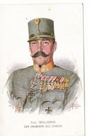 1. WK. Fmit. TROLLMANN, Der Eroberer Des LOWCEN, Rotes Kreuz Karte Nr. 608 - Personen
