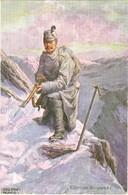 """1. WK. Gebirgsjäger, """" KÄRNTNER BERGWACHT """" - Weltkrieg 1914-18"""