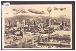 STUTTGART 1940 - LUFTSCHIFF ZEPPELIN, FLUGZEUG, RAKETEN UND BALLON - TB - Stuttgart