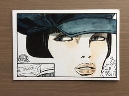 Cartolina Presentazione Mostra Inediti Guido Crepax 12-12-2014 Al 30-01-2015 La Spezia - Cómics