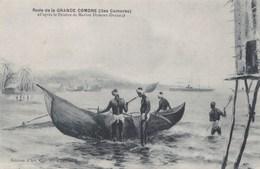 RADE DE LA GRANDE COMORE /D'APRES LE PEINTRE DUMONT DUPARC (dil434) - Comoros