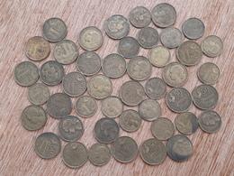 Lot De 45 Pièces De 20 Et 50 F Guiraud, Années 50 - M. 50 Francs