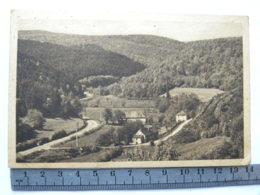 """CPA (71) Saône Et Loire, """"La Vallée"""" De La Canche Aux Viollots, Route D'Autun à Château-Chinon Entre,La Selle Roussillon - Non Classés"""
